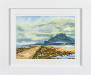 """""""St Michael's Causeway""""  £95    35.5 x 43 cms approx outside frame measurement"""