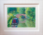 """""""Dreamy Days""""  £125  35.5 x 43  cms approx outside frame measurement"""