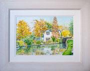 |Autumn on the Aylesbury Arm £150 16 x 12 plus frame width