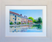 """Stoke Bruerne""  £150   51 x 41 cms approx outside frame measurement"