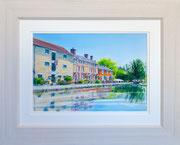 """Stoke Bruerne""  £150   51 x 41 cms approx outside frame measurement"