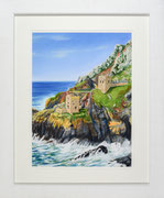Botallack Mine £225 48 x 58 cms approx outside frame measurement