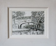 """Great Haywoood Lock"" £65  10 x 8 inch plus frame width"