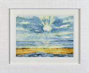 """Marazion Beach"" £125  14 x 11 inch plus frame width"