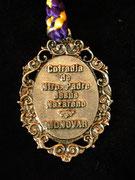 Medallón (parte trasera)