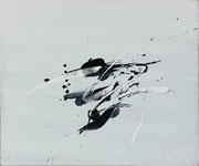 Jean Degottex, Finis Terrae, 1956, huile sur toile.