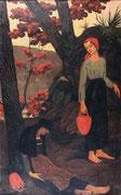 Paul Sérusier, Les Porteuses d'eau ou La Fatigue, 1897, huile sur toile.