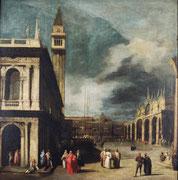 Canaletto, Venise, la Piazzetta San Marco, vers 1740, huile sur toile.
