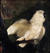 Edouard Manet, Deux perroquets, huile sur toile.