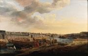 Louis-Nicolas Van Blarenberghe, Vue du port de Brest, 1774, huile sur toile.