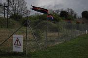 Ein Lüftchen hat einer echten Ostfrieslandfahne noch nicht geschadet!
