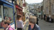 Montag: Spaziergang durch den wunderschönen Ort von St.Ives.
