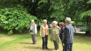 Samstag: Spaziergang durch die Parkanlage vor dem Royal Crescent im Kurort Bath (1 von 2)