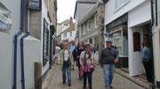 Montag: Spaziergang durch die Straßen von St.Ives.