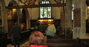 Montag: Blick in die St.Ives Church.
