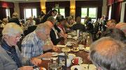 """Samstag: Frühstück am letzten Tag im Viersterne Hotel """"MacDonald Botley Park""""."""