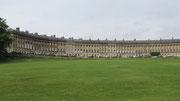 Samstag: Das Royal Crescent im Kurort Bath wurde von der UNESCO als Weltkulturerbe eingestuft.
