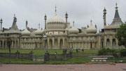 Samstag: Letzte Station unserer Reise ist das Seebad Brighton. Das Foto zeigt den königlichen Pavillion von König Gregor IV.