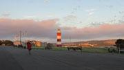 Mittwoch: Abendspaziergang vom Hotel zum Leuchtturm von Plymouth (3 von 3).