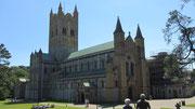 Freitag: Besichtigung des Klosters Buckfast Abbey bei Buckfastleigh.