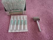 桃かお鍼灸院の鍼灸道具