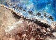AFRIKA, Acryl, 50x 70 cm , 1/2016