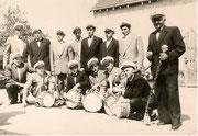 Tambourcorps Ende der 50er Jahren