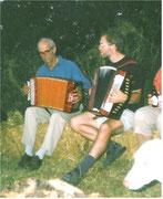 Grillfest Peter und Rainer