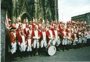 Karneval mit der Prinzengarde in Köln 2002