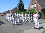 75 jähriges Jubiläum Tambourcorps Embken in 2005