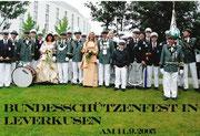 Bundesschützenfest Leverkusen 2005
