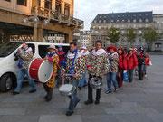 Am 11.11.10 mit Tambourcorps und Prinzenpaar Rainer & Hilde in Köln