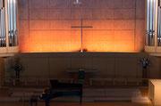 祭壇のすてきな十字架