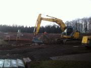 Baufortschritt 21.3.2012