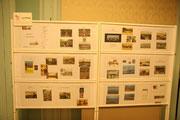 Une partie de l'exposition sur les ponts