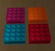 Coussins de sol carrés (décoration)