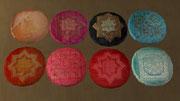 Coussins de sol ronds (décoration)
