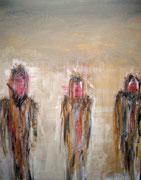 acrylique sur toile (coll.part.)