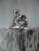 """acrylique sur toile (""""lost"""")"""