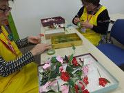 浦和区の花「ニチニチソウ」を作ろう