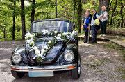 Hochzeitsauto/St. Annaberg/Pfalz