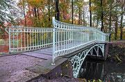 Brücke im Schlosspark von Herrnsheim