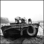 Boot im Erlacher See