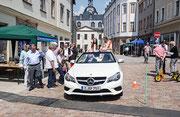 Bürgermeister von Glauchau sitzt in der Nobelkarosse