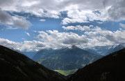 Blick auf die Hohe Tauern in Österreich
