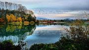 Herbststimmung am Erlacher See