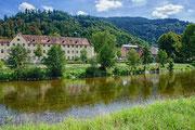 Blick aufs Schloss in Wolfach