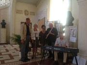 Vincent Navaro, piano, Jacques Fresneau flutte