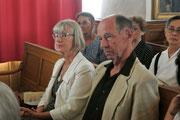 Jean-Paul Aeschlimann, président de la société helvetique de Montpellier Languedoc-Roussillon et Madame le consul de Suisse.consul de Suisse