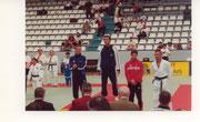2000 - Benoit Pelé sur le podium à Bercy